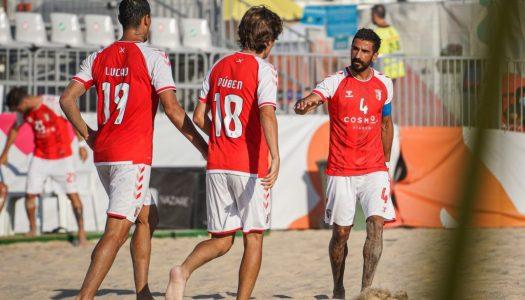 SC Braga vence AD Buarcos e garante a liderança da primeira fase do Campeonato de Elite
