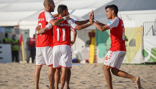SC Braga carimba passagem às meias da Euro Winners Cup