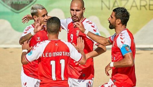 SC Braga goleia GRAP no regresso às competições nacionais