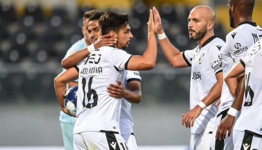 Vitória SC inicia a época com triunfo frente ao Leixões