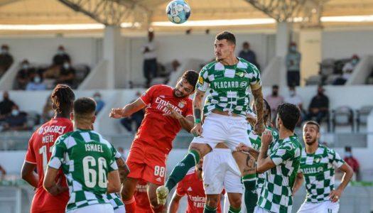 Moreirense FC inicia Liga Bwin com derrota frente ao SL Benfica