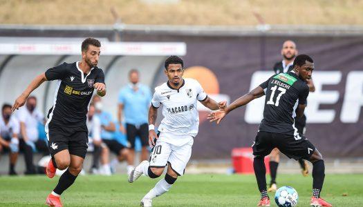 Vitória SC vence e alcança a fase de grupos da Allianz Cup