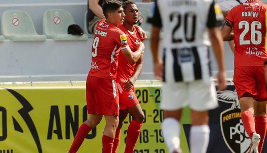 Gil Vicente soma três pontos na visita a Portimão