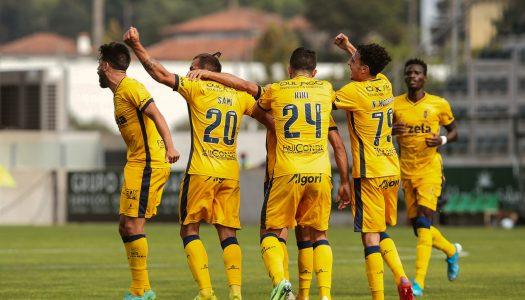FC Vizela conquista triunfo suado frente ao CD Tondela