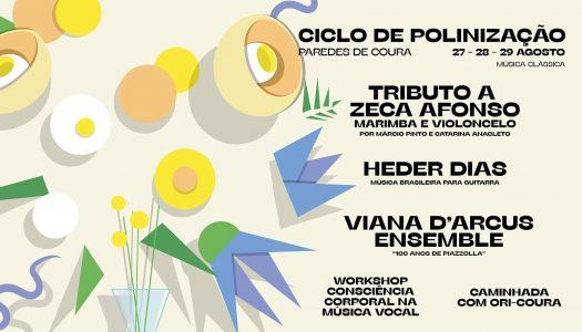Tributo a Zeca Afonso: uma marimba e um violoncelo em Paredes de Coura