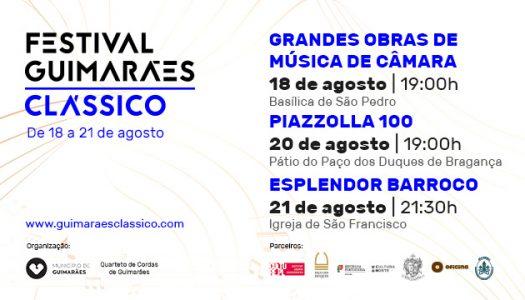 Festival Guimarães Clássico promove música de câmara