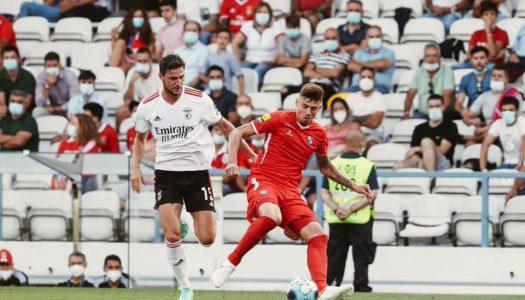 Gil Vicente FC perde pela primeira vez diante do SL Benfica