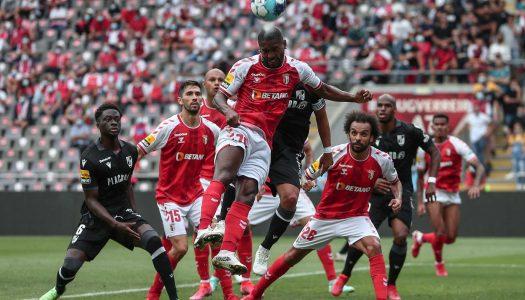 Dérbi minhoto termina com empate entre SC Braga e Vitória SC