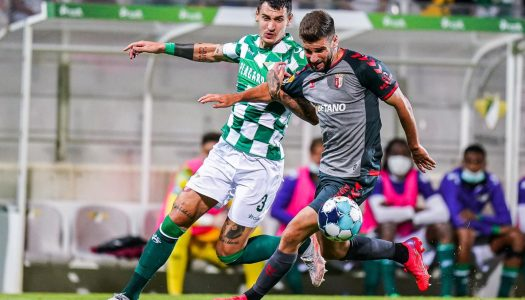SC Braga vence dérbi minhoto em Moreira de Cónegos ao cair do pano