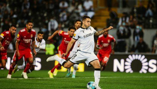 Vitória SC perde na receção ao SL Benfica