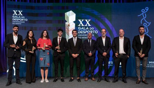 Gala do Desporto da Universidade do Minho destaca atletas do ABC/UMinho