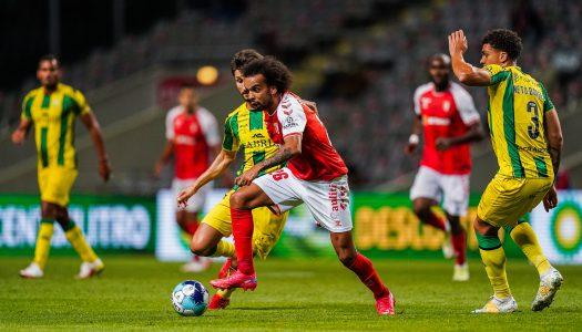SC Braga triunfa sobre o CD Tondela após três jogos sem vencer