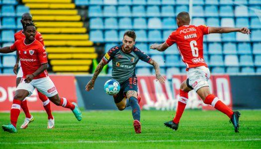 Golo ao cair do pano dita empate do SC Braga nos Açores