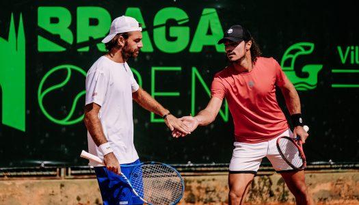 Tiago Cação e Pedro Araújo saem derrotados na segunda ronda do Braga Open