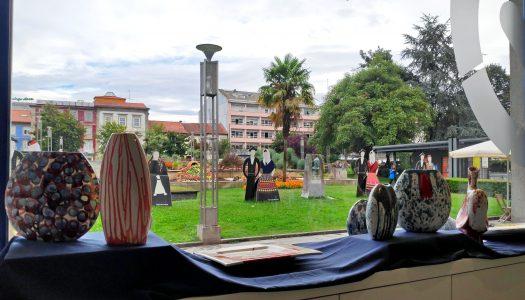 Posto de Turismo de Braga recebe exposição de pintura cerâmica