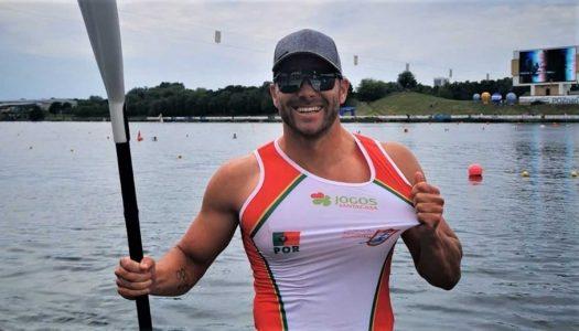 João Ribeiro consegue medalha de prata nos Mundiais de Canoagem
