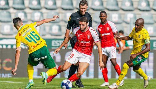 SC Braga empata frente ao FC Paços de Ferreira