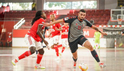 SC Braga/AAUM sai derrotado frente ao SL Benfica