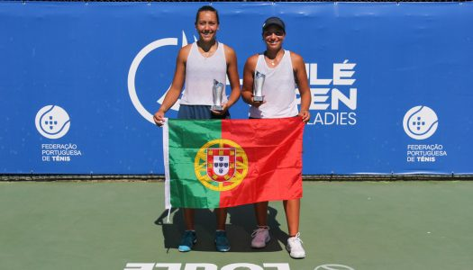 Francisca Jorge e Matilde Jorge sagram-se vice-campeãs de pares no Loulé Open