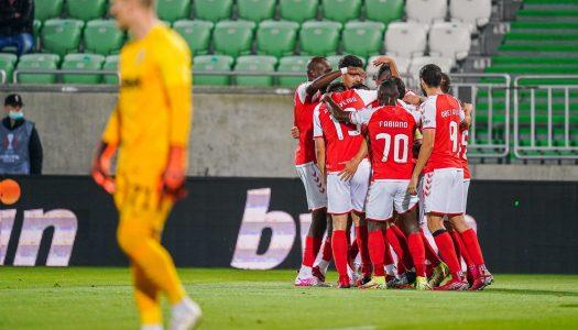 SC Braga soma segunda vitória na Liga Europa