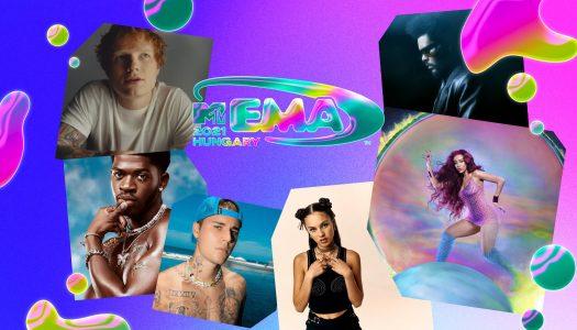 MTV Europe Music Awards 2021. As nomeações dos prémios europeus
