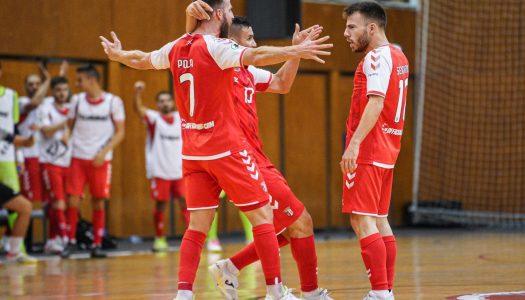 Mão cheia de golos garante triunfo caseiro ao SC Braga/AAUM