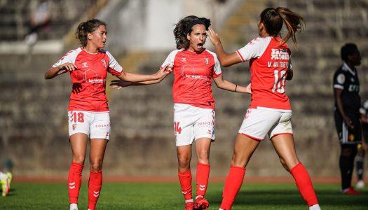SC Braga bate Condeixa e só sabe vencer na Liga BPI