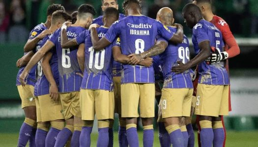 Moreirense FC sai derrotado na visita a Alvalade