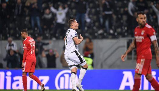 Vitória SC divide pontos contra o SL Benfica