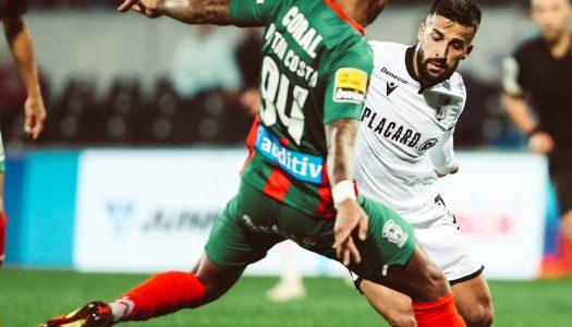 Vitória SC sofre mas vence a equipa do CS Marítimo